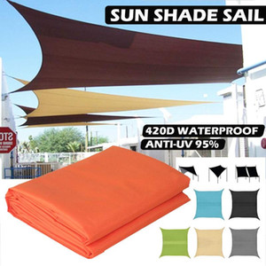5M Awning Waterproof Tarp Tent Shade Ultralight Garden Canopy Cover Sunshade Outdoor Camping Hammock Car Beach Sun Shelter