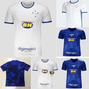Продвижение 2021 22Cruzeiro Футбол Джерси 20 21 De araSasaeta Fred Robinho Thiago Menfootball Рубашка Cruzeiro Home Club Camisas Sassá