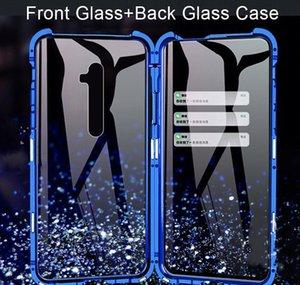 360 Cassa del telefono in vetro temperato a doppio fianco per OPPO A5 A9 2020 Reno Z 2 2z 3 Caso Pro antiurto antiurto MAUTRUST Coperchio protettivo SHN8F SX2GX