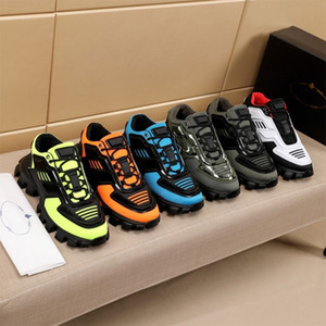 2021 Новые Мужчины Повседневная Обувь Капсульная Серия Камуфляж Стилист Обувь Последние P Cloudbust Thunder Дизайнер Кроссовки Резина Низкая Платформа Обувь