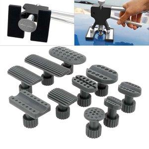 10pcs set Plastic Gasket Vehicle Repair Kit Sheet Metal Dent Removal Gaskets Car Dents Puller Suction Cup Repairs Tool