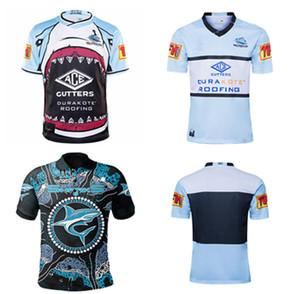 2020 2021 Yeni Queensland Maroons Malou Cronulla Shark Rugby Jersey Savaşçı Siyah Köpekbalığı Savaşçı Tay Yetişkin Rugby Gömlek S-5XL Özelleştirilmiş