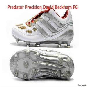 2020 NOUVEAU Hommes Soccer Cleats Predator Accelerator Electricity FG TR Chaussures de football Predator Precision FG X Beckham Turf Bottes de football intérieur