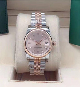 Hot seller Womens Watches 31MM Lady mechanical automatic watch with light outer ring stainless steel wristwatch fashion watch master watch