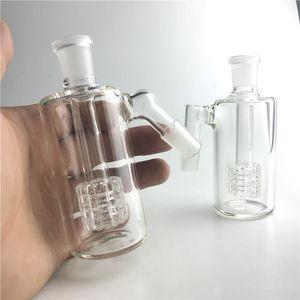 Glass Ash Catcher 14mm 18mm 4.5 Inch Mini Glass Bong Ash Catchers Thick Pyrex Clear Bubbler Ashcatcher 45 90 Degree