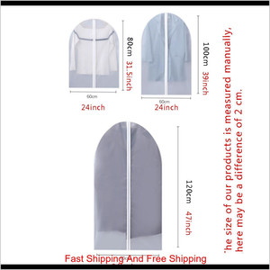 Clothes Dustproof Cover Garment Organizer Suit Dress Jacket Clothes Protector Pouch Clear Waterproof Zipper Travel qylPEk sweet07