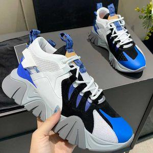 2021 Дизайнерская Марка Пара Мода Спортивные Обувь Мужские и Женские Повседневные Shoess Толстые Сообщенные Высококачественные Невыполненные Износостойкие Содержательные подошвы
