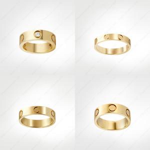 Love Switch Ring Designer Diamond Rings Classic Роскошный дизайнер Ювелирные Изделия Женщины Золотые Кольца Титановый Сталь Сталь Позолота никогда не исчезает не аллергически