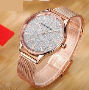 Klas basit tasarım klasik saatler kadın elbise altın kol saati ile paslanmaz çelik kadın saat moda lüks bayanlar izle