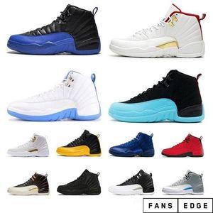 أعلى وصول جديدة 12S رجل كرة السلة الأحذية 12 فئة 2003 لعبة رويال الرجال أحذية رياضية فيابا جامعة الأزرق إمرأة مثقاب الحجم 7-13