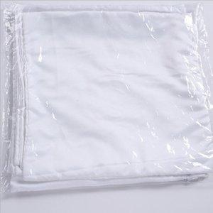 Sublimation 45 * 45 cm Coussin carré Coussin d'oreiller vierge DIY Couvercle de transfert de chaleur Coussin d'oreiller d'oreiller en polyester Insert Coussin d'oreiller en polyester 191 S2