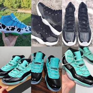 11 11s Scarpe da pallacanestro Mens Womens Concord High Low Sneakers Space Jam Beat Cap Gown Trainer Size 36-47 15