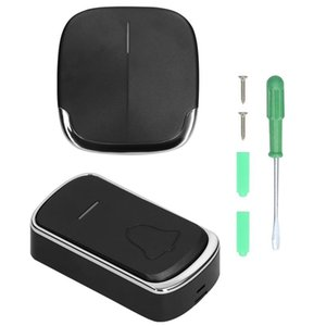 Doorbells Wireless Doorbell Waterproof Touch Button Home Security Welcome Smart Chimes Door Bell Alarm Chime 58 Songs