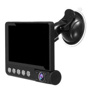 Exquisitely Designed Durable C9 3 Lens Car DVR Camera 4 inch LCD 1080p IR Night Vision Dash Cam Recorder