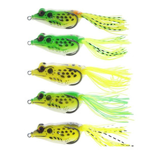 New Ray Frog Floating Artificial Freshwater Fishing Lure 5colors 6.5cm 14g Topwater Fishing Pe jllCqn sport77777