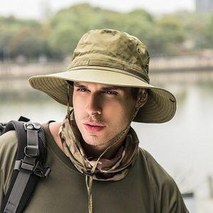 Bucket Ht Boonie Hunting Fishing folding Outdoor Cp Wide Brim Militry Unisex Sun Brim Sri Summer Men Fishermn sunscreen