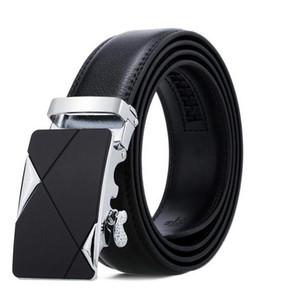100% Cowhide Genuine Leather Belts For Men Vintage 2017 New Design Male Strap Ceinture Homme 110-130cm Men Belt Q190417