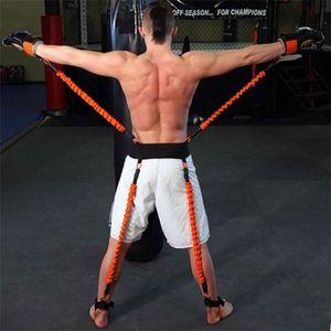 150 LBS 권투 MMA Crossfit 훈련 벨트 축구 농구 Taekwondo 운동 J0115에 대한 민첩성 훈련 스트랩