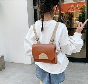 Backpack Love Bear Joker Knapsack Bag Мода Traval Bags PU Водонепроницаемые школы для мальчиков и девочек Мини Детские школьные сумки WMQ577