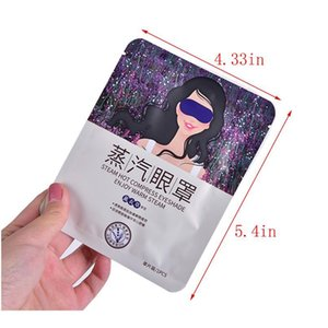 5pcs Lavender Steam Warm Eye Mask Dark Circle Eye Bags Eliminate Puffy Wrinkles Anti Aging Eyes Fine Line Sleeping qylaLE
