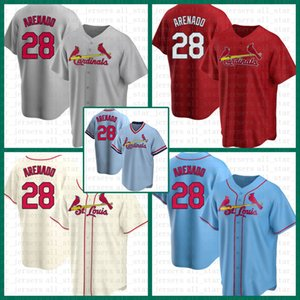 St. Baseball Jersey Louis Custom Cardinal 28 Nolan Arenado 46 Paul Goldschmidt 4 Yadier Molina 13 Matt Carpenter 1 Ozzie Smith Mens Multi