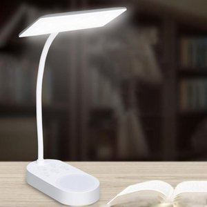 Table Lamps USB Rechargeable 60LED Desk Lamp Touch Diamable Adjustable Student Study Reading Light 5 Brightness Levels For Travel