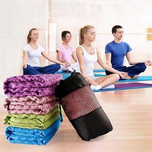 Portable Non-Slip Unisex Yoga Mat Cover Towel Yoga Blanket Gym Sport Fitness Exercise Pad Cushion Floor Mat Supplies