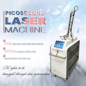 Máquina de eliminación de tatuajes en venta Punteros de láser de alta potencia de alta potencia Q Interruptor Picosegundo Láser Limpiar Máquina de tatuaje
