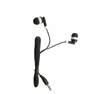 DHL Libre al por mayor niños auriculares auriculares auriculares auriculares 100 pack color negro para escuelas para estudiantes de aula de escuela