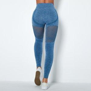 Gymfrever Sport Sport Leggings Femmes Taille High Taille Sans couture Femme Femme Entraînement Énergie Solution Seamless Collants Gym Yoga Pants Leggings Q0126