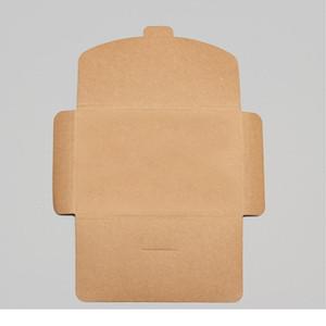 10pcs 3 Colors Vintage Blank Kraft Paper Diy Multifunction Envelope Postcard Box Package Paper Wedding In jllacU