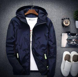 2020 남성 여성 후드 재킷 코트 남성 탑스 겉옷 상어 악어 얼굴 남성 의류 긴 소매 재킷 M85