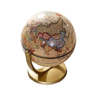 Élimelim Plastique Terre Terre Globe World Globe Fashion Accueil Décoration Cadeau Pour Enfants Livraison Gratuite Y200104