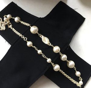 Fashion Necklace for Woman Shiny Pearl Necklace High Quality Brass Material Necklace Gift Hot Sale Jewelry Supply
