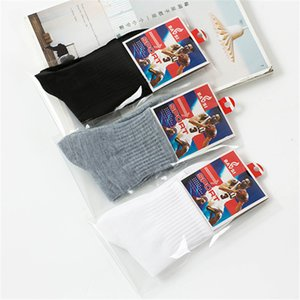 Autumn winter independent packaging middle tube sports men's shoes and clothing gift socks