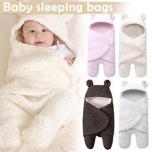 Newborn Baby Girls Boys Sleeping Bag Swaddle Wrap Stroller Bed Blanket BM88