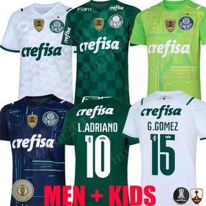 21 22 Camisas Palmetiras Jersey G.Gomez G.Veron L.Adriano Ramires DUDU 2021 2022 Libertadores Finales Hommes Femmes Kit Kit Chemise de football