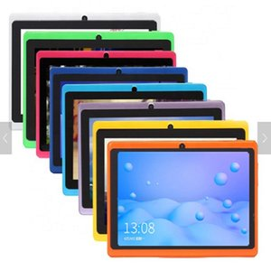 """7""""inch Q88 android4.4 quad core A33 wifi bluetooth dual camera with case Educational kids learning tablet"""