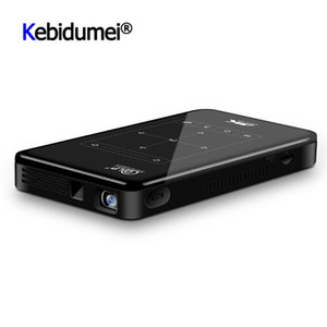 P09II Portable DLP Mini Projector Android 9.0 2.4G 5G WiFi Bluetooth Projector 4K HD IN Beamer Home Cinema LED Video Proyector