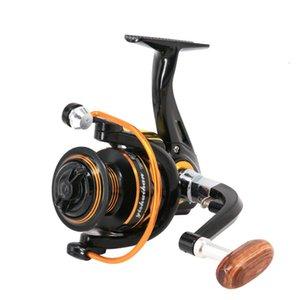 Bouge de pêche GF7000 Max Drag 10kg 5.0: 1 Haute vitesse Toutes les métaux Tuboules en métal Spinning Roublons de la carpe Salope Pêche Gear Send Line
