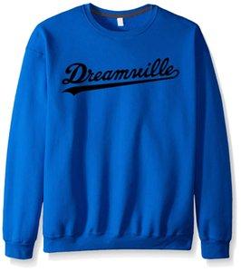 Großhandel - Neue Herbst Winter Dreamville Mode Beiläufige Hoodies Baumwolle Marke Kleidung Harajuku Männer Schwarz Sweatshirt Yung Lean Hip Hopcj69