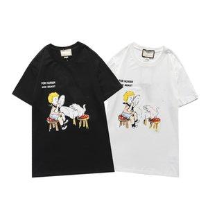 Diseñador de moda para hombre Tshirts para mujer verano O-cuello Jersey Camisetas para hombre Tshirts Manga corta Blanco Blanco Tops Casual T Shirts DB92 #