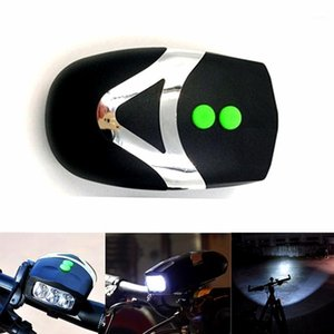 New HOT Bicycle Horns Light Electronic Cycling Bike Bicycle Handlebar Ring Bell Horn LED Strong Loud Clear Air Alarm Bell Sound1