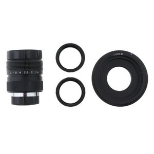 Lens Adapters & Mounts 25mm F1.4 Tele TV W  C Mount Adapter Rings For EOS M