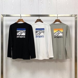 2020 Neue Mode Trend Patagonia LVR Sustainable Ridge Line Langarm T-Shirt Langarm