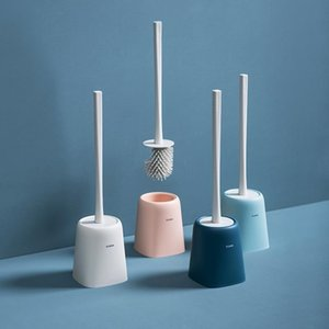 Toilet Brushes & Holders Northern Europe Brush No Dead Wash Cleaning With TPR Soft Head-Automatic Air-Dry