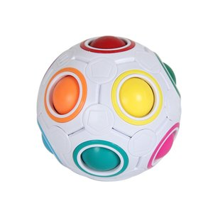 Rainbow Puzzle Ball Pack Pouch Color Matching Game Fidget Toy Stress Magic Brain Teaser Kids Adults Children Boy Girl