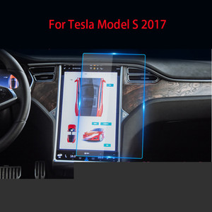 Original GPS Car Navigation Steel Film for Tesla Model S X 2017 2019 Central Control LCD Screen Glass Tempered HD Film