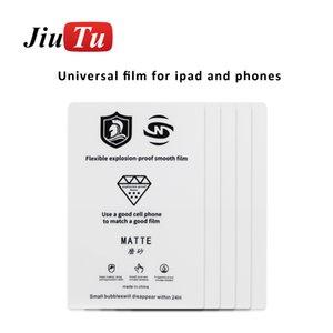 Jiutu Flexible Smart HD HYDROGEL TPU Film para teléfono móvil Tablet Cámara Reloj Pantalla de protección Películas de Películas Corte