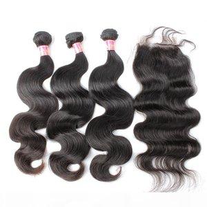 Bella capelli? Le estensioni dei capelli umani del Virgin dei Malesiano le estensioni di colore naturale del corpo di colore naturale del corpo si estendono con la chiusura trasporto libero